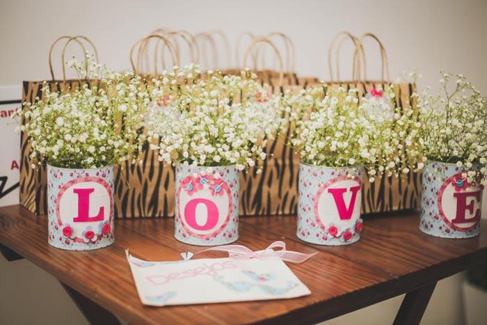 decoração de casamento com mosquitinho