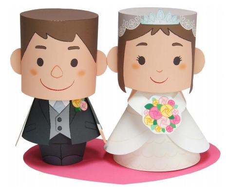 Topo de bolo grátis para casamento