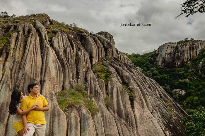 Ensaio na Pedra da Boca – Paraíba: Camilla e Eltinho