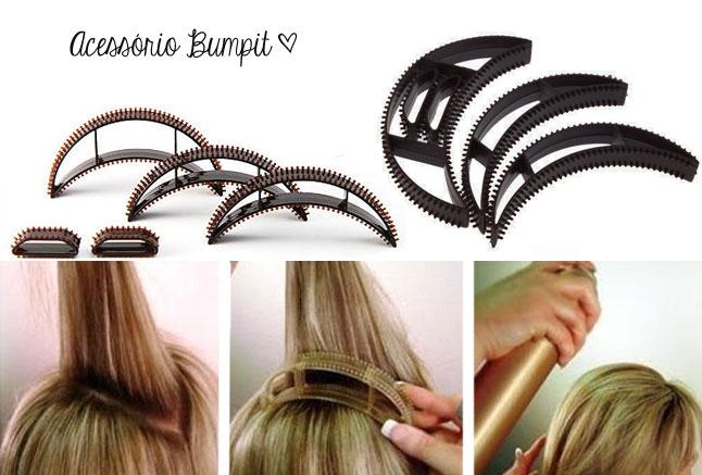 Faça você mesmo: Penteado retrô usando o Bumpit
