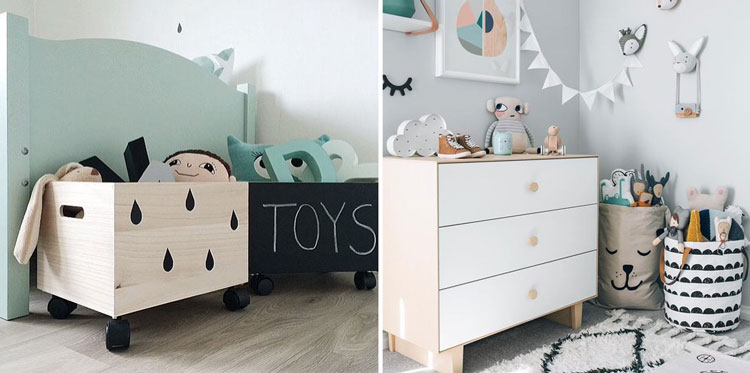 quarto infantil - cantinhos especiais