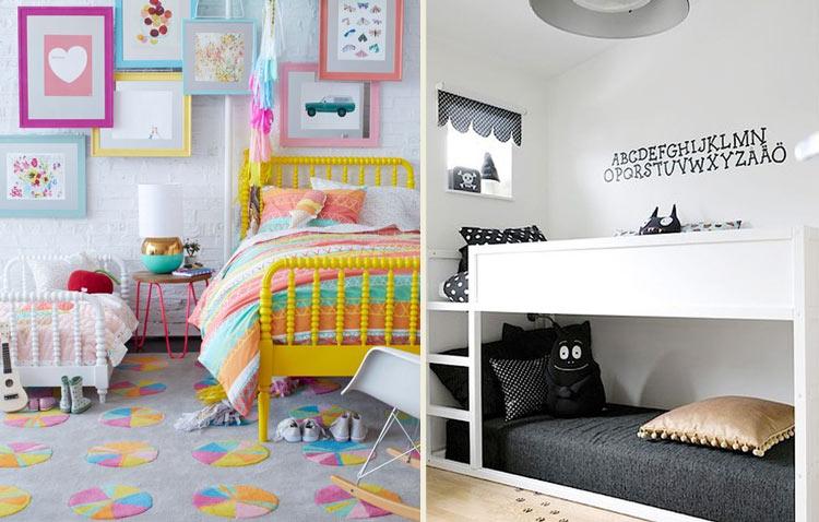 14 inspirações para quartos compartilhados