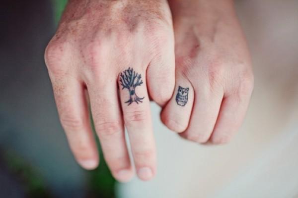 Tatuagem aliança