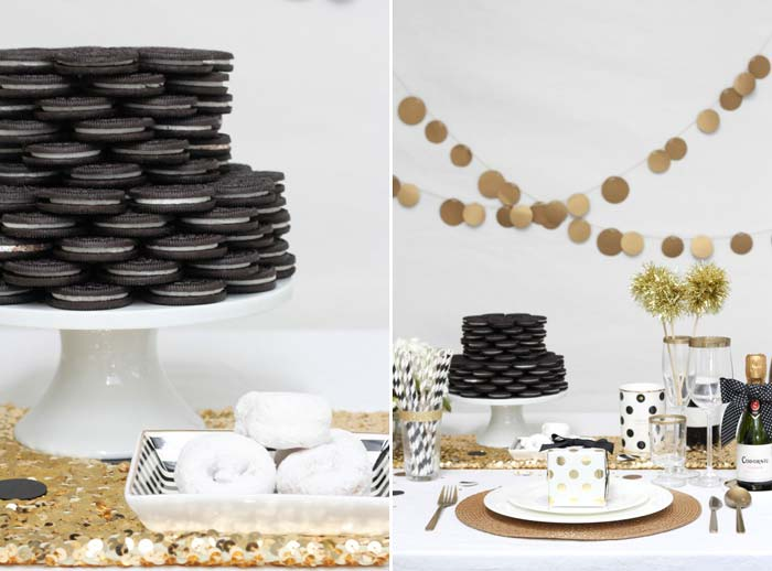 Faça você mesmo: Torre de biscoitos