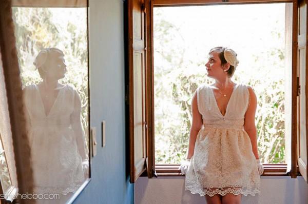 decoração de casamento feita pelos noivos