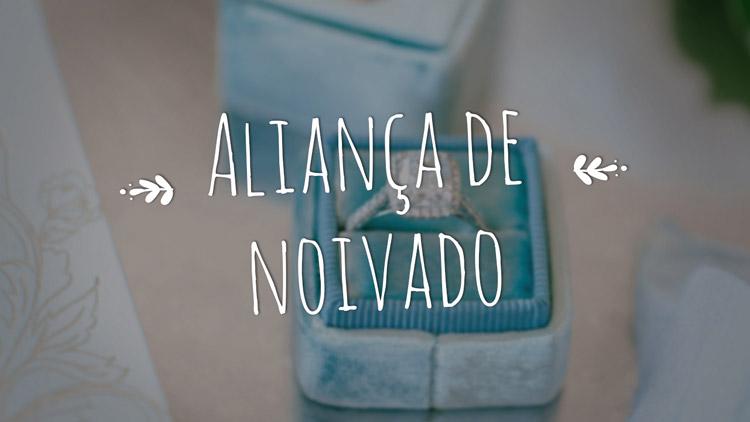 Vídeo: Aliança de noivado
