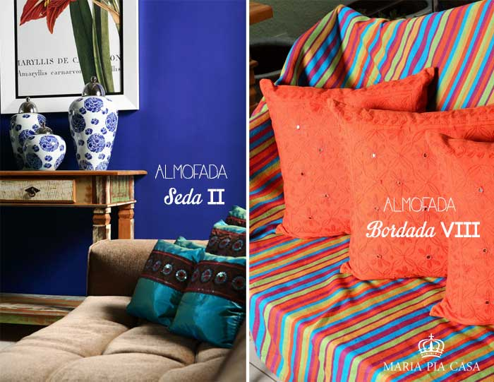 Almofadas - Maria Pia Casa