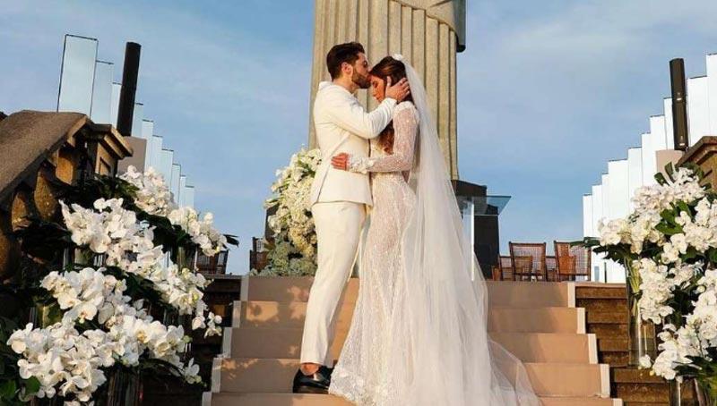 alok casamento Cristo Redentor