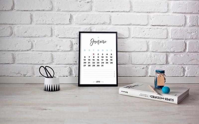 calendário 2019 grátis