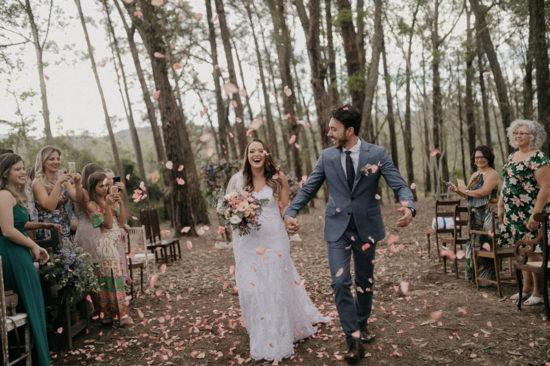 Casamento ao ar livre: Carol e Israel – Jardim Ecológico Uaná