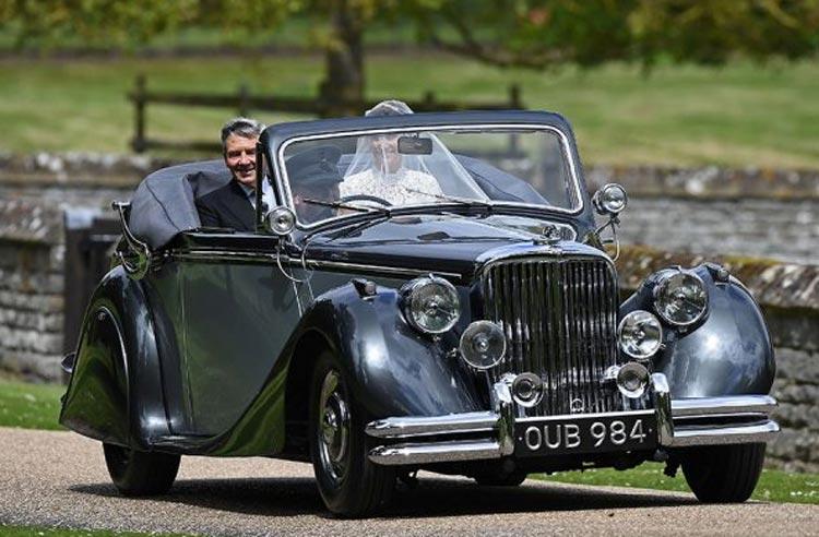 O casamento de Pippa Middleton e James Matthews