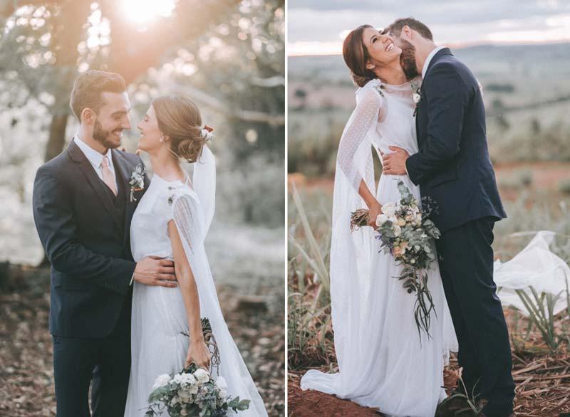 Casamento na fazenda: Luana e Patrick