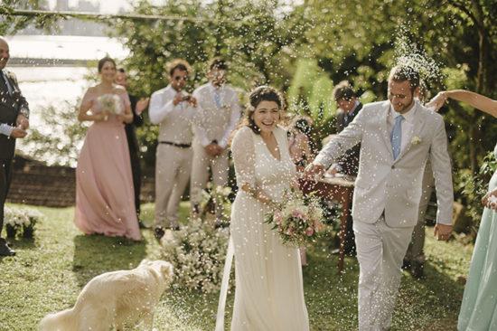 Casamento no quintal de casa – Camila e John