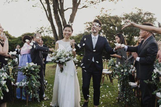 Decoração botânica: Casamento Hanny e Bruno