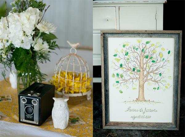 casamento decoração com corujas