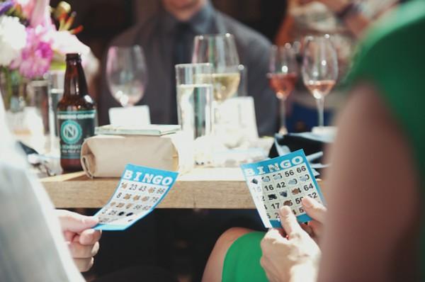 bingo no casamento
