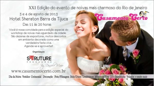 WorkShop Casamento Certo