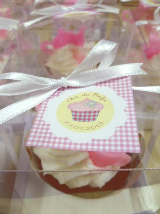 chá de cozinha: tema cupcake