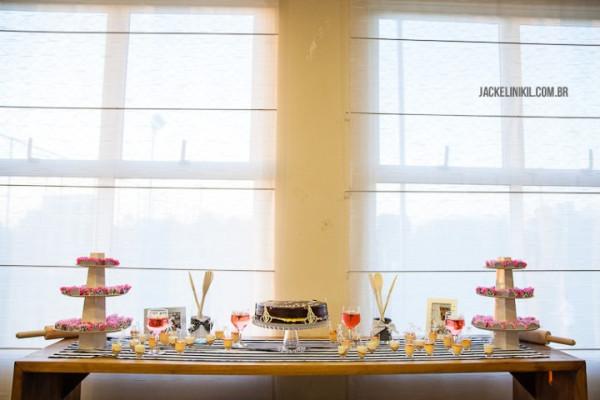 decoração de chá de cozinha