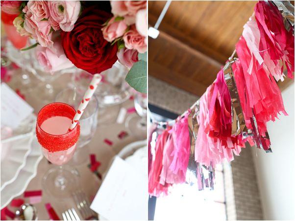 decoração de chá de panela pink e rosa
