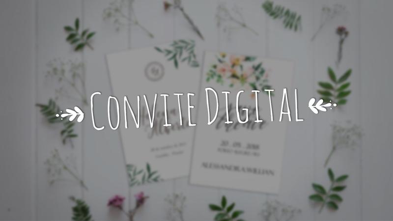 5 motivos para não fazer somente o convite digital na sua festa de casamento