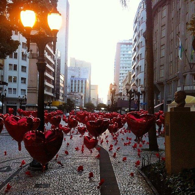 Dia dos namorados em Curitiba