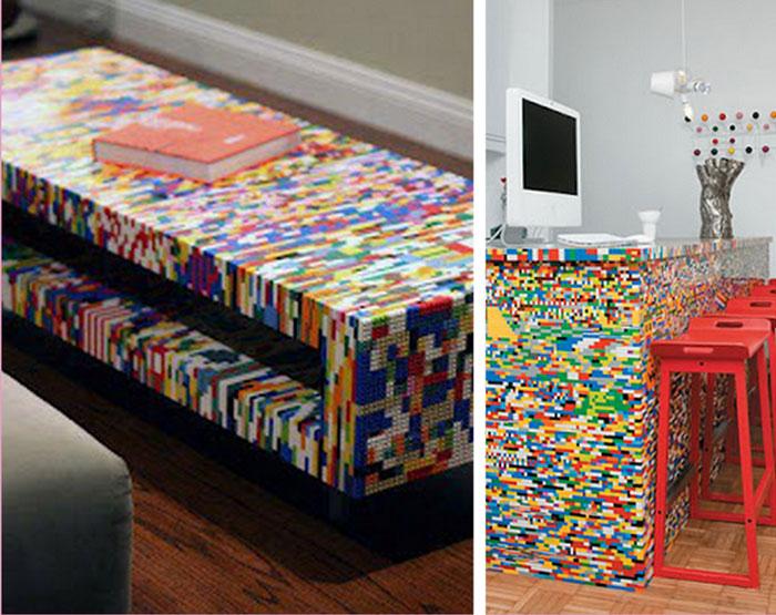 Lego na decoração da casa