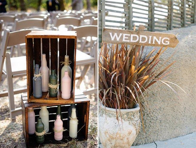 Inspirações para um casamento sem flores