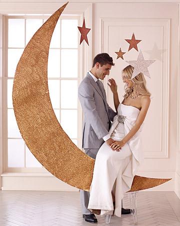 decoração de casamento com papel