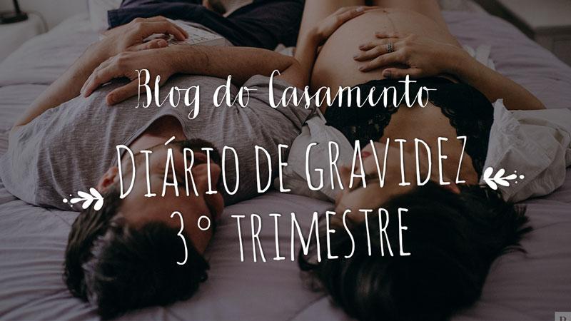 Vídeo: Diário de gravidez:  3° trimestre de gestação