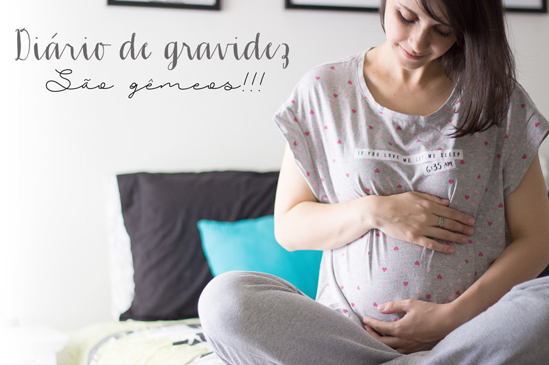 Diário de gravidez: São gêmeos!!!