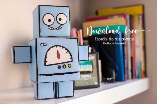 Festa do Robô – Download free: Especial dia das crianças