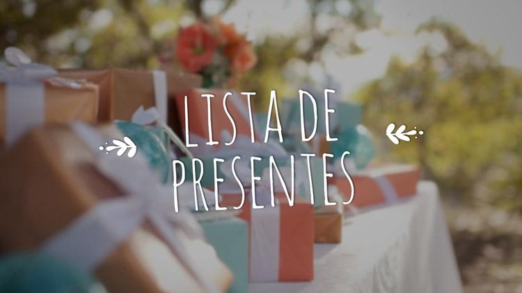 Como divulgar a lista de presentes de forma elegante