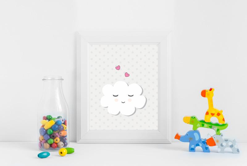 Posters gratuitos para você baixar e decorar o quartinho do seu bebê 6