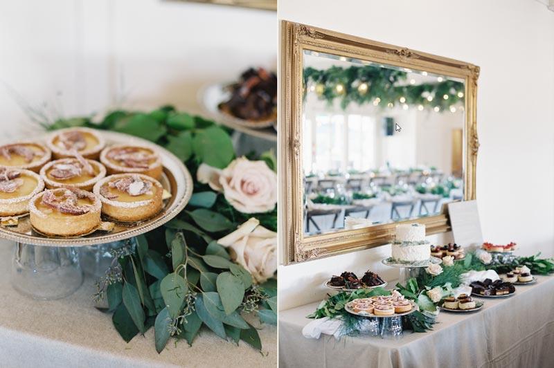 mesa de doces casamento simples