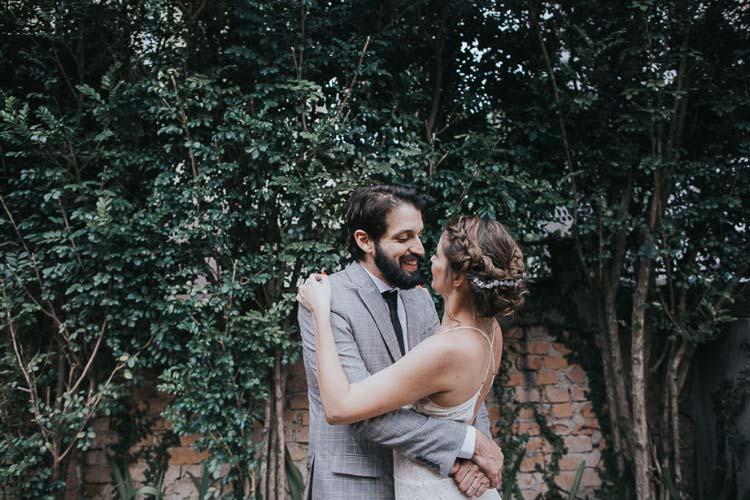 Mini wedding em casa: Camila e Rodrigo