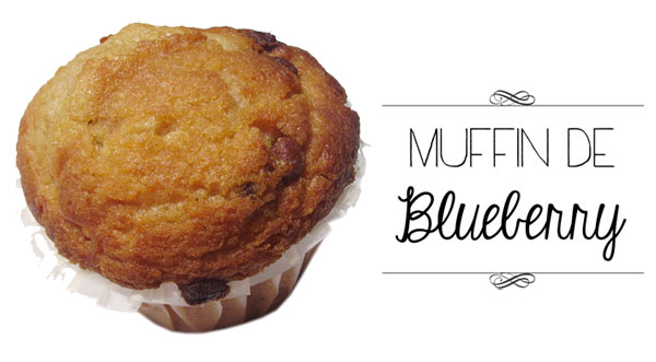 Muffin de Blueberry