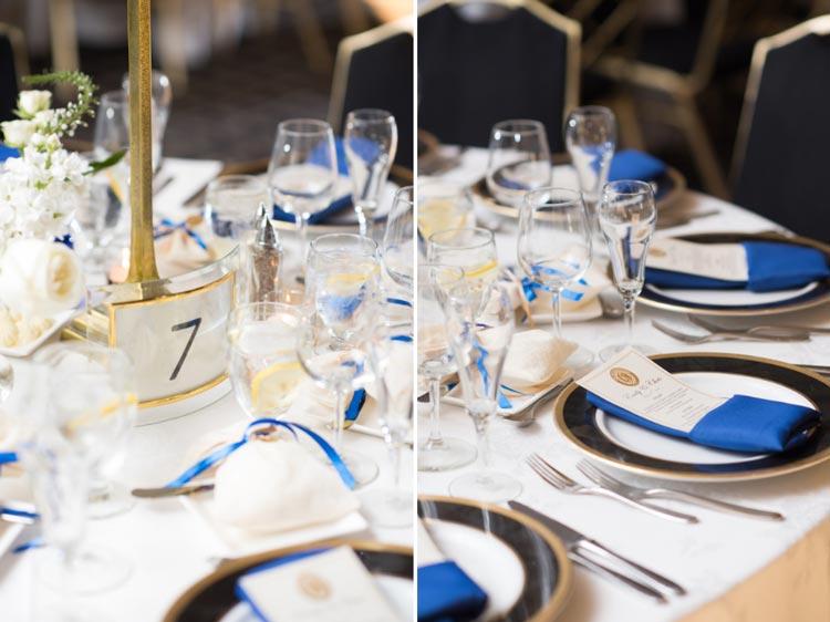 numerar a mesa dos convidados com porta retrato