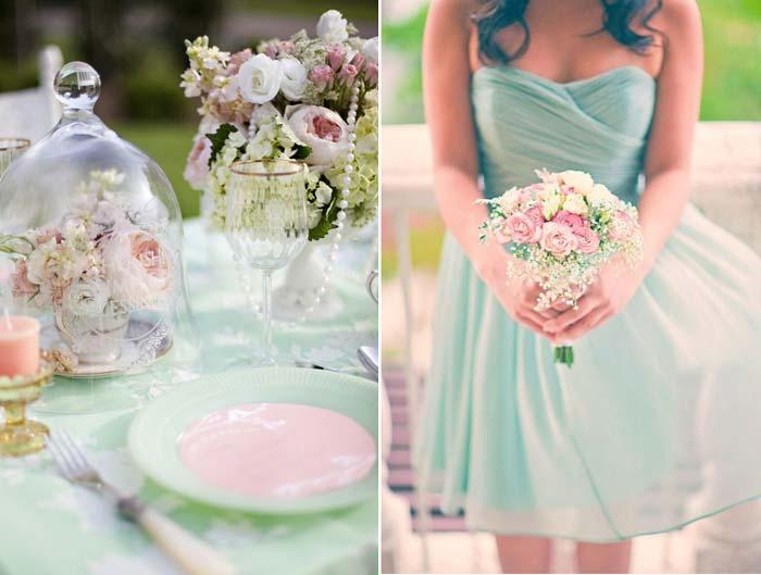 Verde menta: a nova tendência de decoração para casamento!