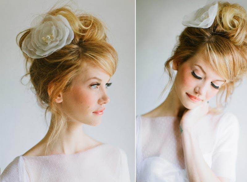 Penteado de noiva: Inspiração cabelo messy ou bagunçadinho