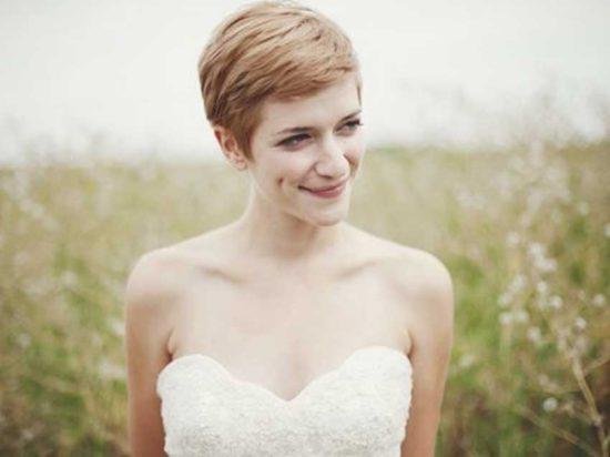 Inspiração: penteados para noivas com cabelo curto