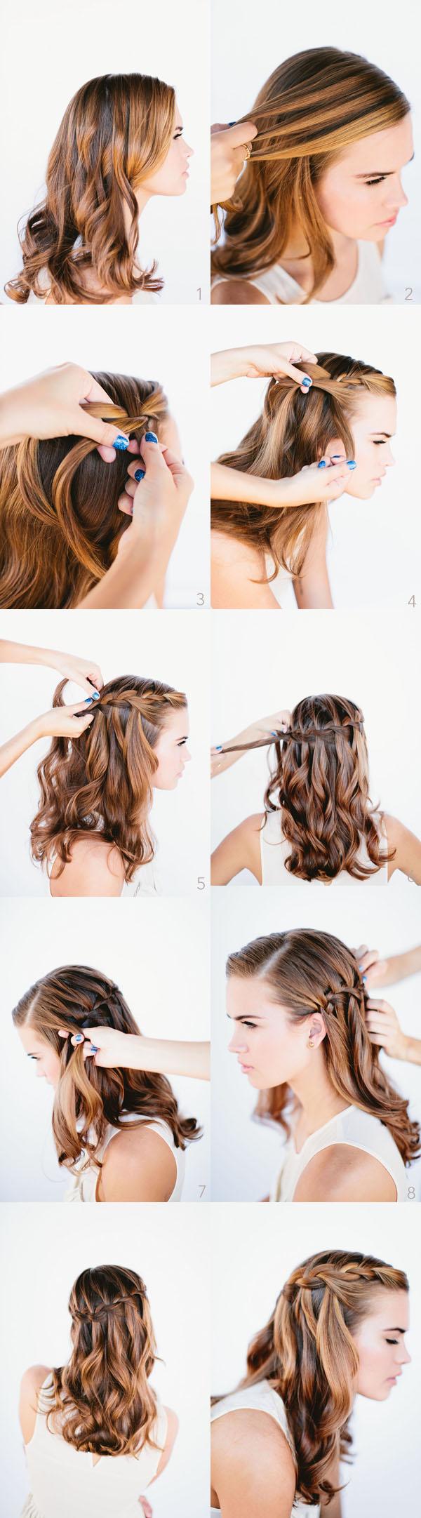 Dica de penteado rápido: trança atravessada