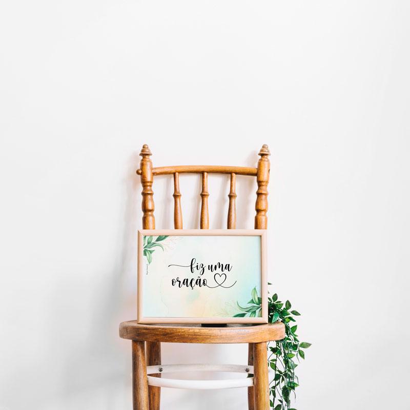plaquinha para cadeira dos noivos 1
