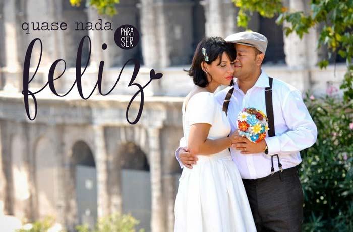 Quase nada para ser feliz: Casamento Flávia e Lúcio