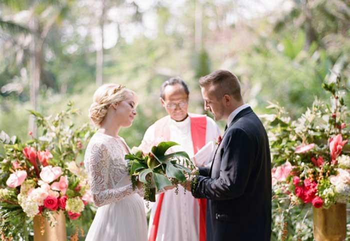 Casamento sem convidados - casamento a dois