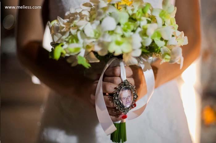 #coisinhasqueamamos: Relicário no casamento