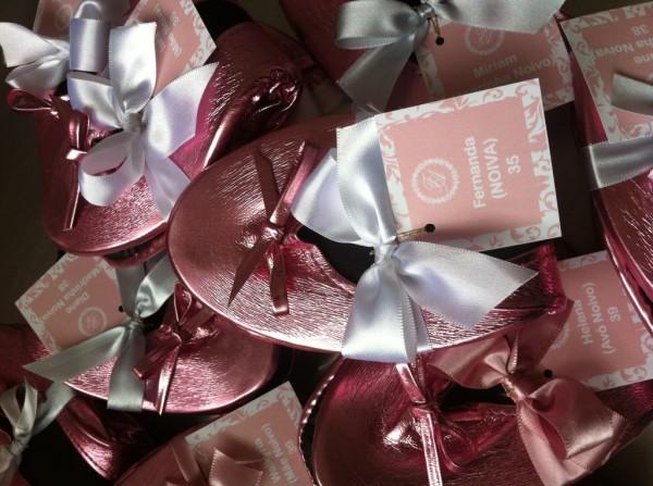 Sapatilhas para as convidadas