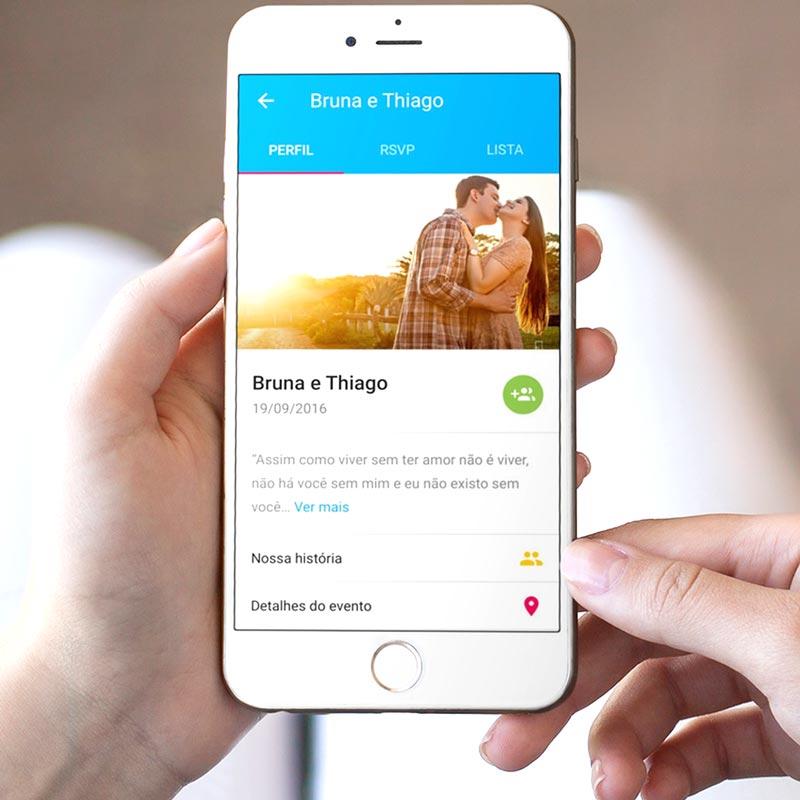 site de casamento - aplicativo Icasei