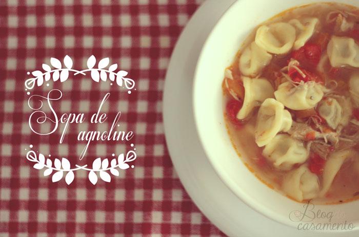 Sopa de agnoline