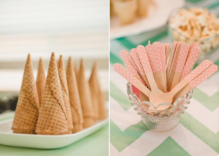 6 sugestões para você servir sorvete na sua festa
